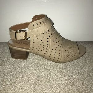 Restricted booties size 8